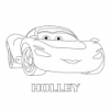 420x420 coloriage holley activite cars 2 disney