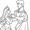 Coloriages aurore activite les princesses disney 3
