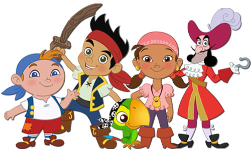 Jake and the neverlands pirates characters 3